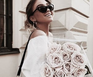 accessories, bouquet, and chic image