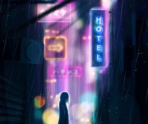 cityscape, cyberpunk, and artists on tumblr image