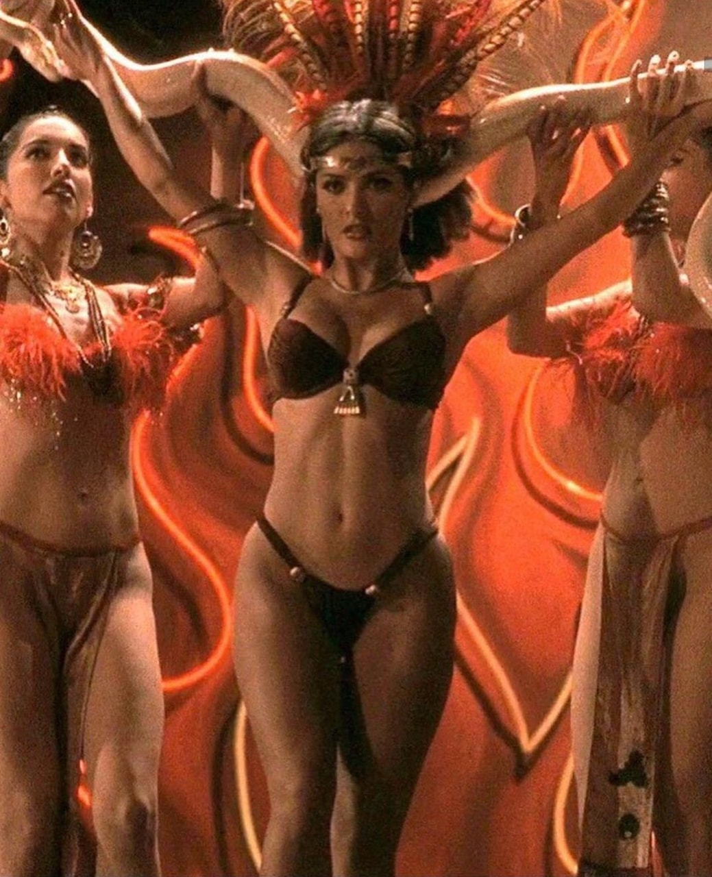90s, Salma Hayek, and from dusk till dawn image