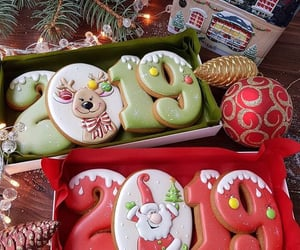 christmas, 2019, and Cookies image