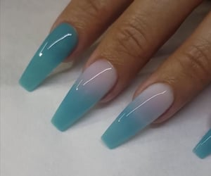 nails, fake nails, and acrylic nails image