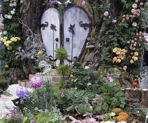 aesthetic, garden, and pretty image
