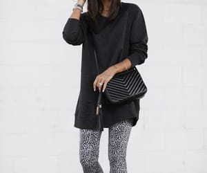 clothes, leggins, and outfit image