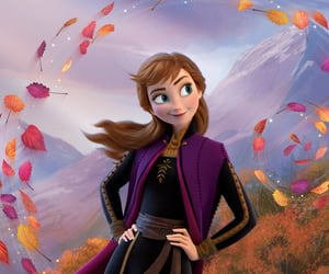 anna, frozen 2, and disney image
