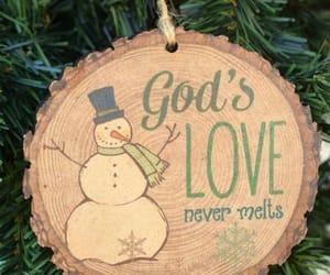 Christ, christmas tree, and faith image