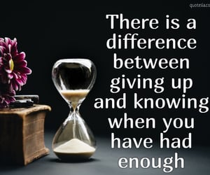 hour glass, time, and quote image