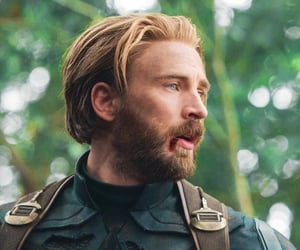 chris evans, captain america, and Avengers image