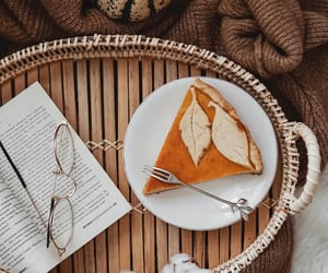 book, cozy, and pumpkin image