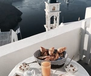 food, breakfast, and Greece image