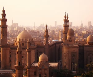 egypt, mosque, and travel image