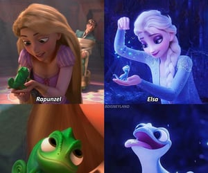 disney, frozen, and pascal image