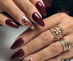 beauty, burgundy, and diamonds image