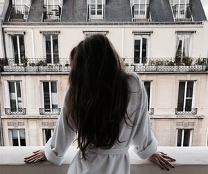girl, hair, and chic image