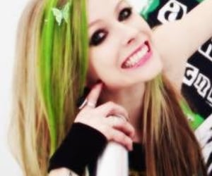Avril Lavigne and girl image