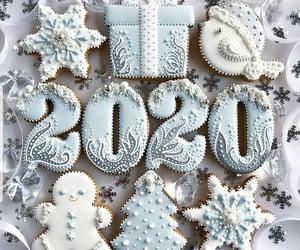 Cookies and christmas image