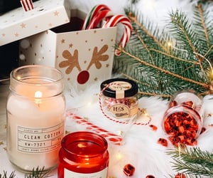 christmas, candle, and aesthetic image