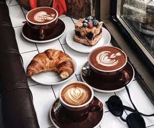 beauty, coffee, and delicious image