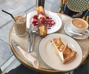 yummy, cake, and coffee image