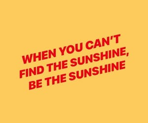 wallpaper, quotes, and sunshine image