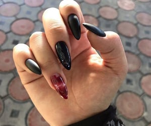 beautiful, nail, and witch image