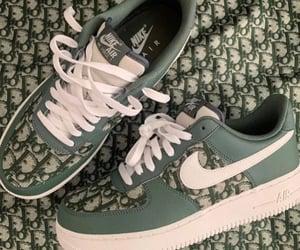 dior, fashion, and green image