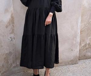 dresses, fashion, and hijab image