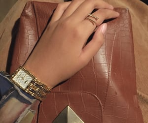 accessories, girl, and gold image