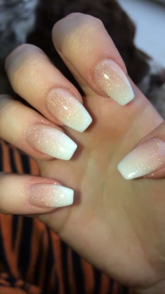 article, woman, and french manicure image