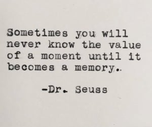 dr seuss, memory, and quote image