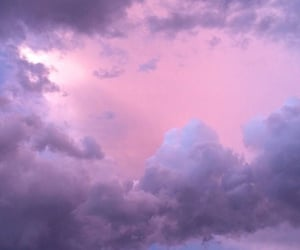 wallpaper, purple, and sky image