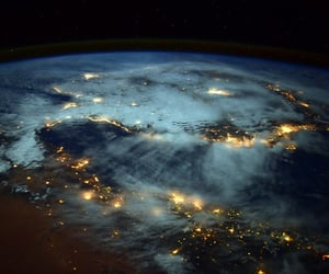 light, earth, and space image