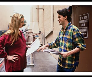 friends, Lisa Kudrow, and Matthew Perry image