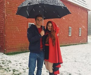 riverdale, archie andrews, and cheryl blossom image