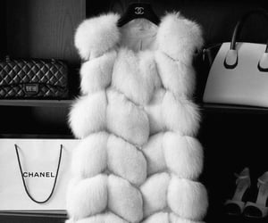 chanel, fashion, and fur image