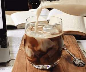 brown, cold coffee, and coffee image