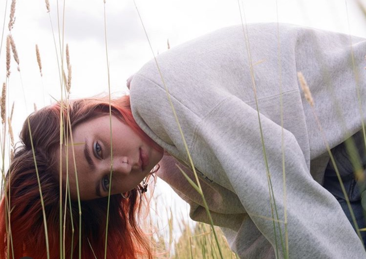 artist, grass, and green image
