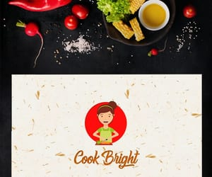chef, food, and typography image