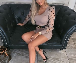 beauty, blonde, and clothes image