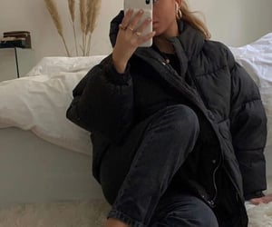 baggy, black, and clothes image