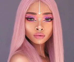 beauty, makeup, and tribal image