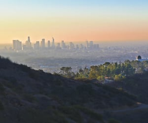 Angeles, color, and landmark image