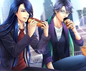 anime, otome game, and handsome image