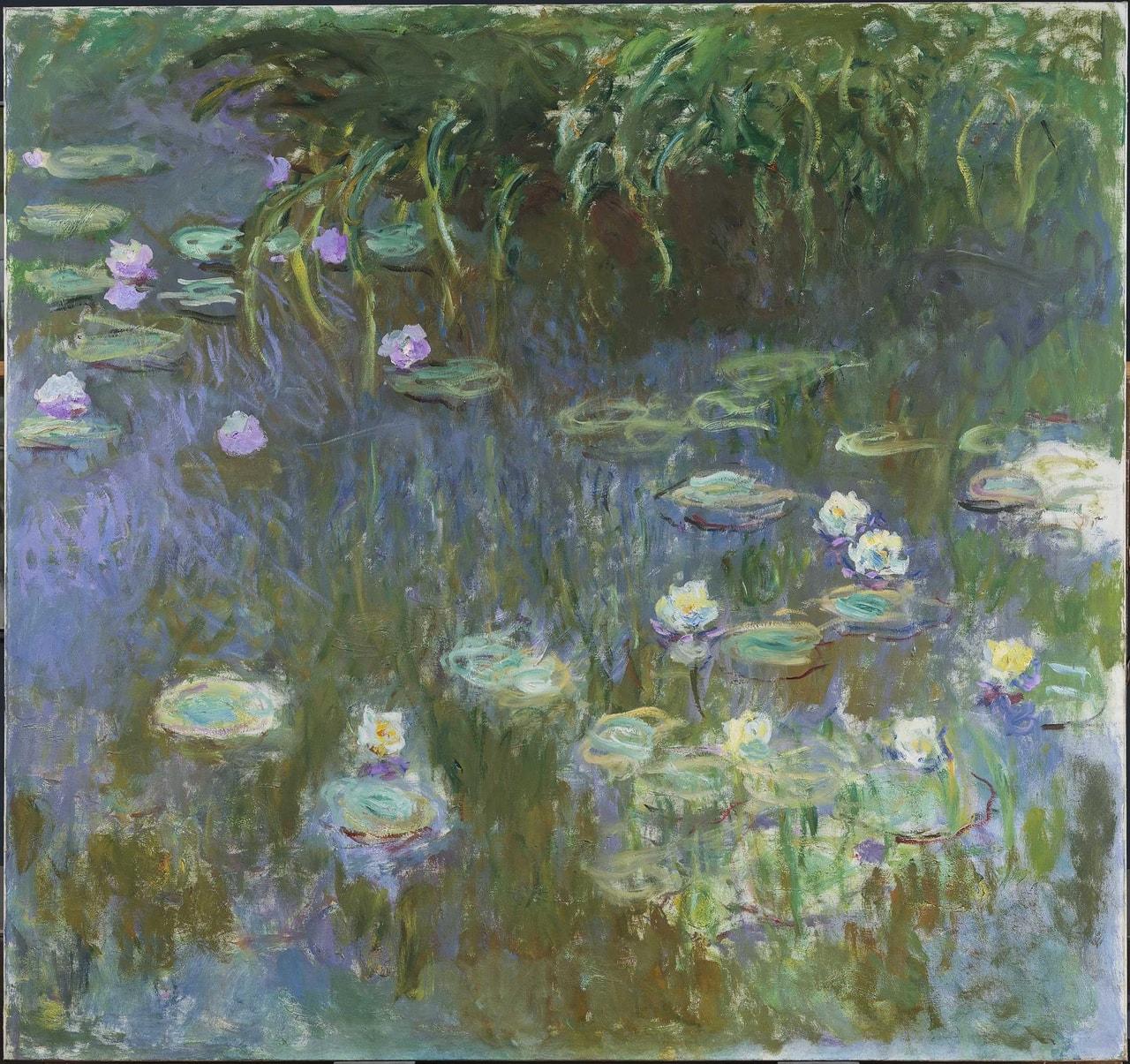 "Water lilies"" (1922) Claude Monet. on We Heart It"