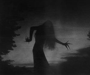 dark, creepy, and witch image