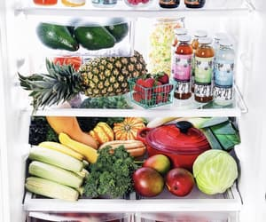 ananas, corn, and healthy food image