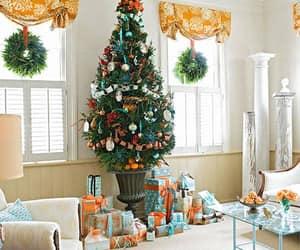 christmas tree, christmas spirit, and merry crhistmas image