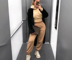 fashion, jacket, and woman girl image