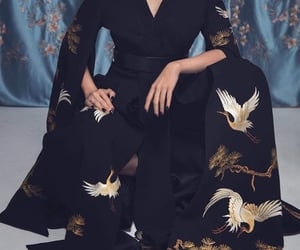 asia, black, and haute couture image