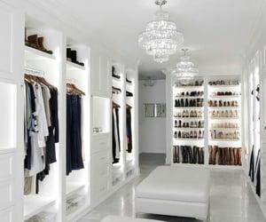closet, home, and white image