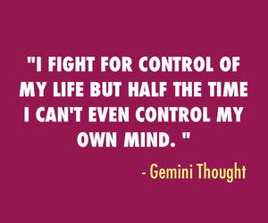 astrology, gemini, and qoute image